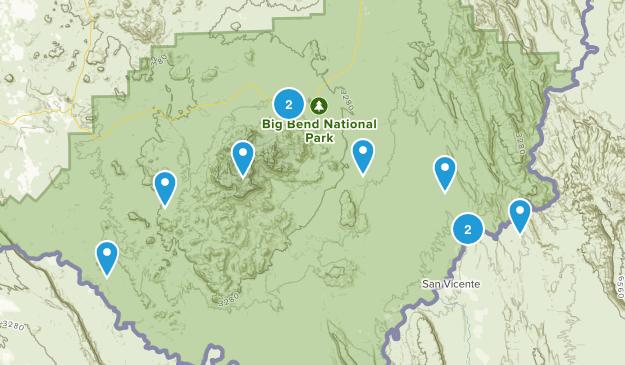 Big Bend Trip Feb 2015 Map