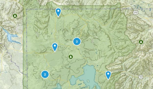 Yellowstone 2015 Map