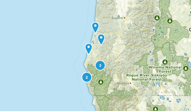Oregon Traild Map