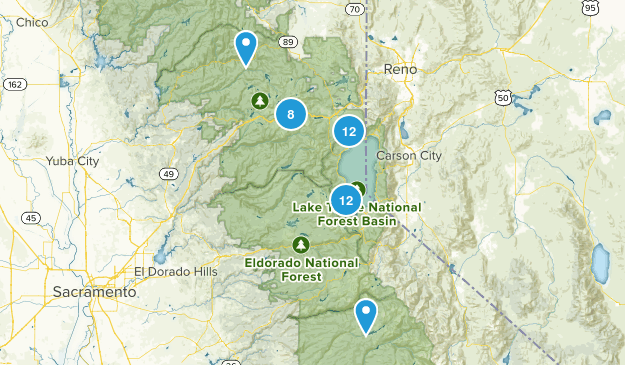 Truckee & Tahoe Map