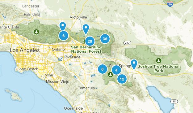 San Bernardino National Forest Map