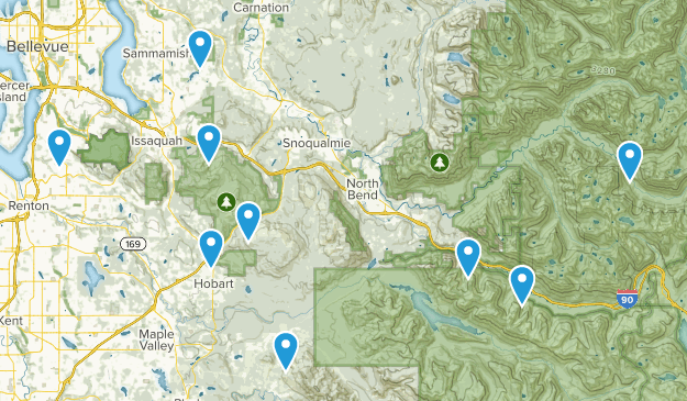 Dogs off leash Map