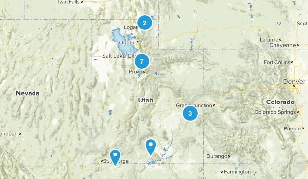Hikes To Do Before Leaving Utah Map