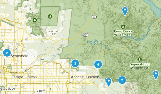 Dales in Az. Map