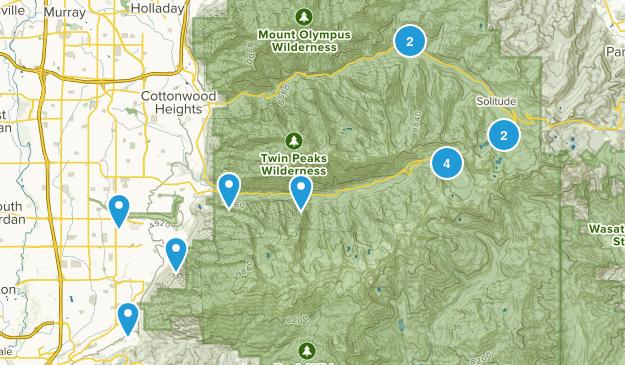Salt Lake County Map