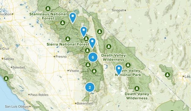 sierras Map