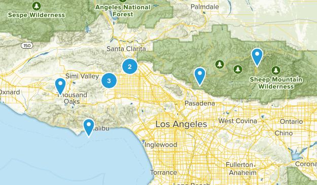 Beginner Hikes Map