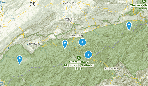 Smoky Mountain Trails Map