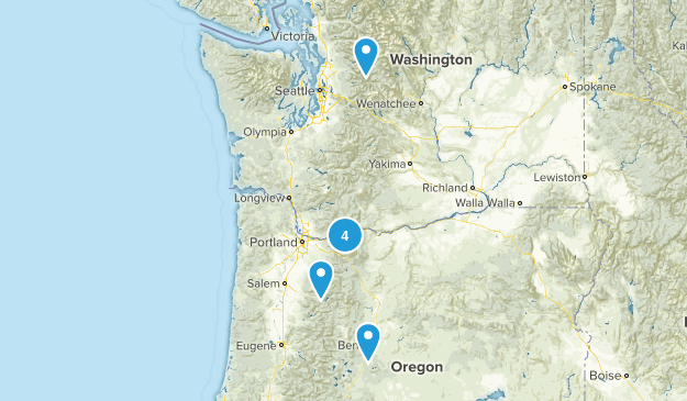 overnighter practice hikes  Map