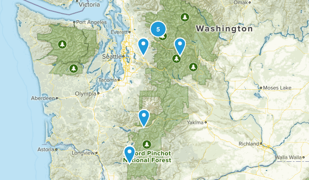 hikes to take with my beautiful wife Map