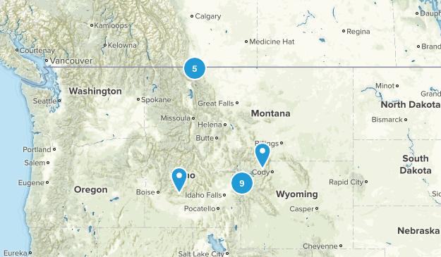 big trip north of Rexburg Map