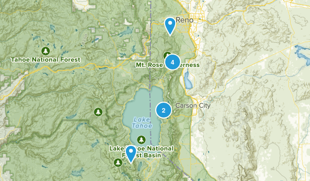 Summer Hikes Map