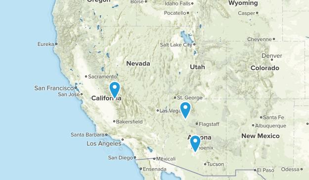 Trip West Map