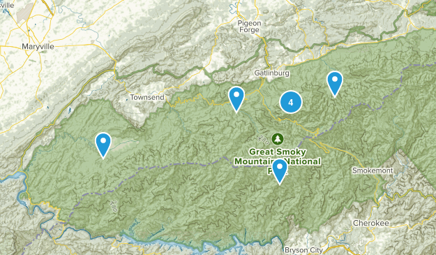 Smoky Mtns Map