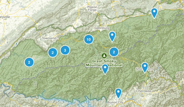 Smokey Mountain Trails Map