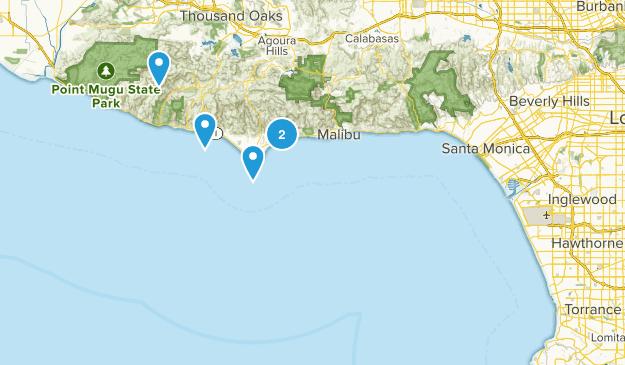 LA area Map