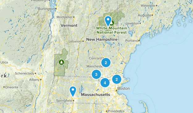 Trails to visit Map