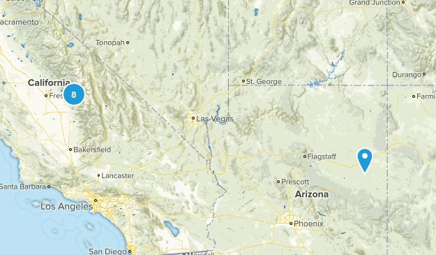 Sequioa/Kings Canyon Map