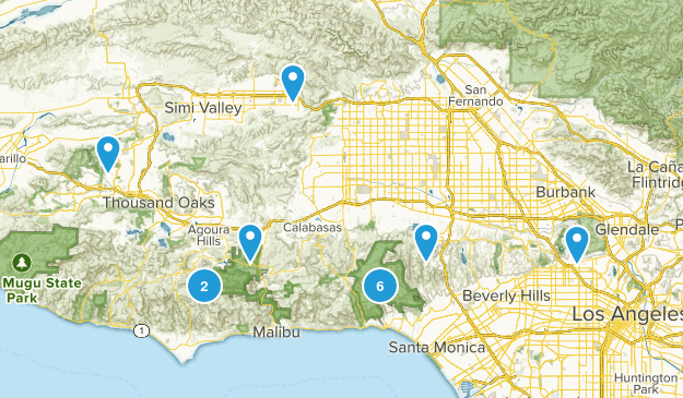 want to do hikes Map