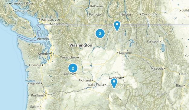 Eastern Washington Map