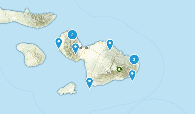 Maui Trails Map