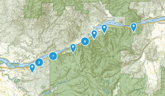 Columbia Gorge Map