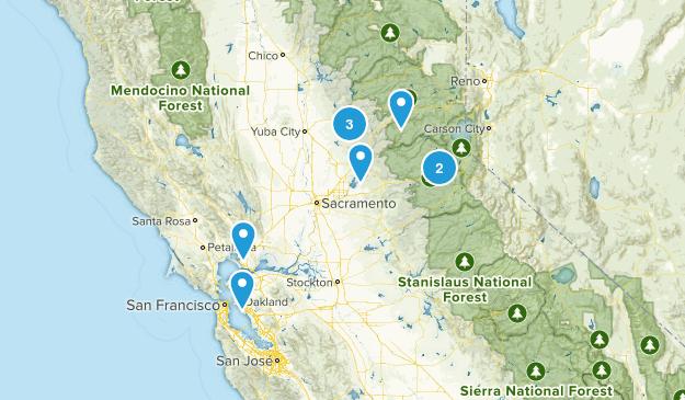 burn trails Map