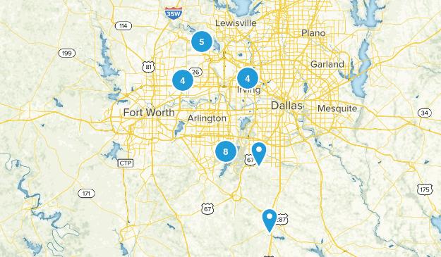 surrounding areas  Map