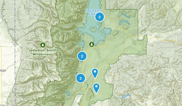 Grand Teton NP Map