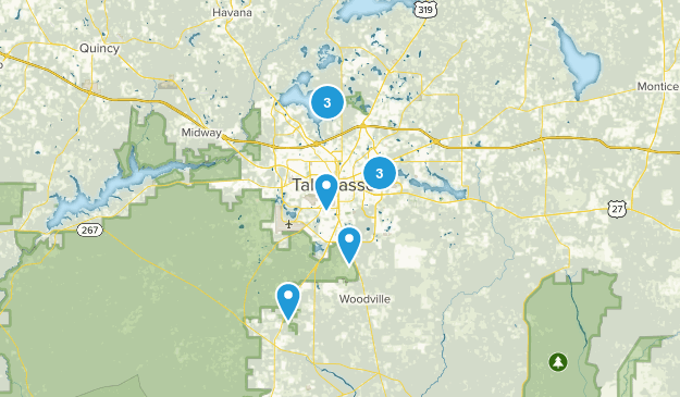 Near Tallahassee Map