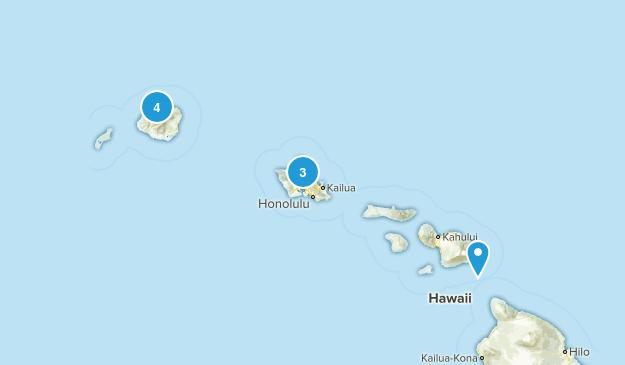 Vacation Hikes Map