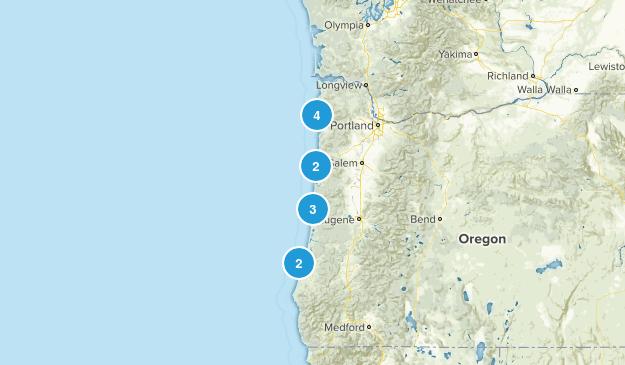 Coastal Hikes Map