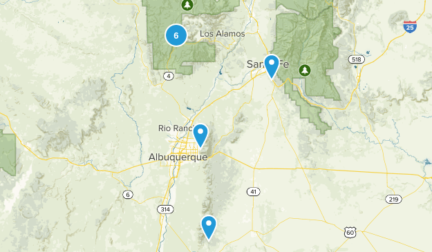 northern New Mexico Map