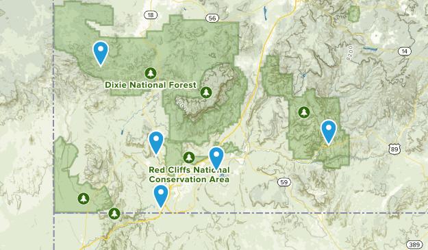 Southern Utah Map