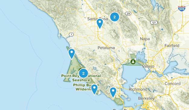 Bucket List Trails Map