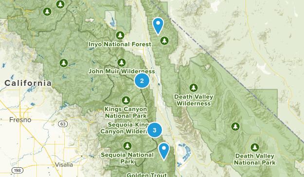 Eastern Sierra Map