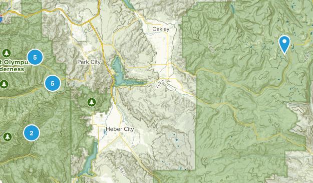 Utah Trip Map