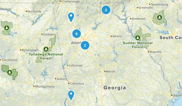 Future Hikes Map