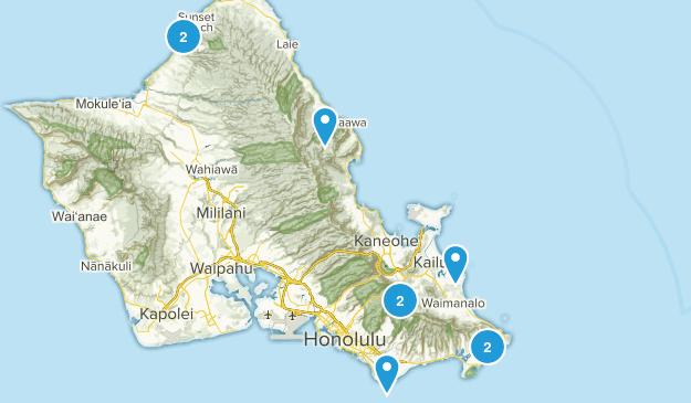 Hawaii 2015 Map