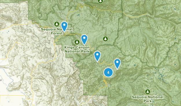 Yosemite Trip 2015 Map