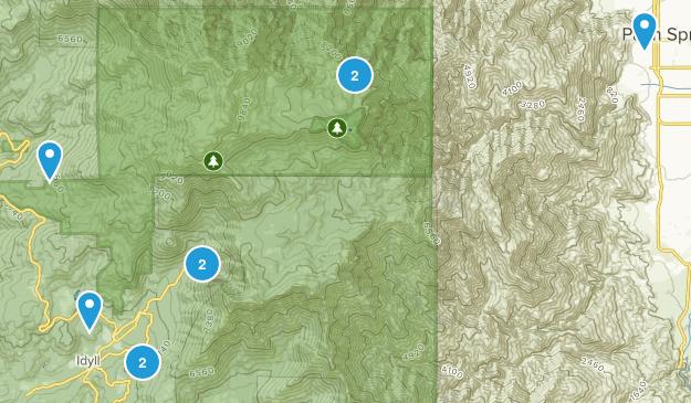 Idyllwild Map