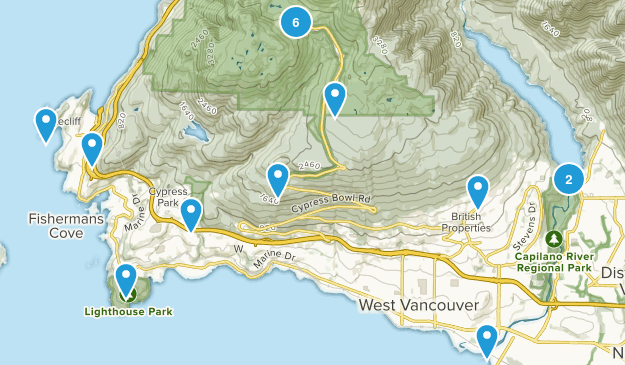 west van Map