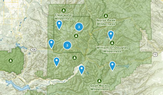 Rainier  Map
