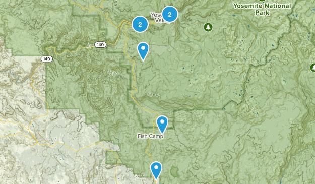 Yosemite's Must do Map