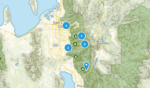 Family Trails Map