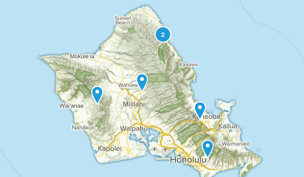 Hawaii- To Do Map