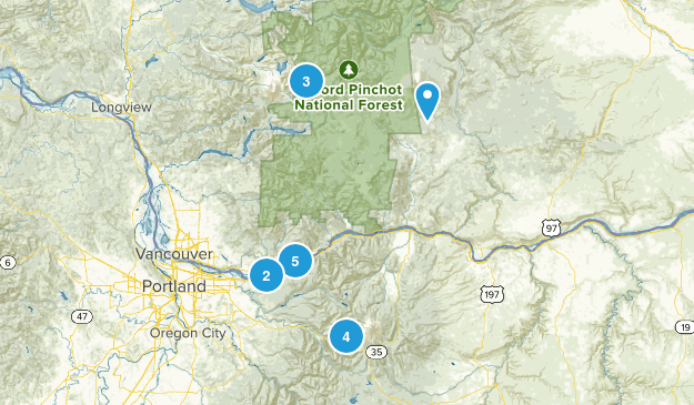 Hikes to go on! Map