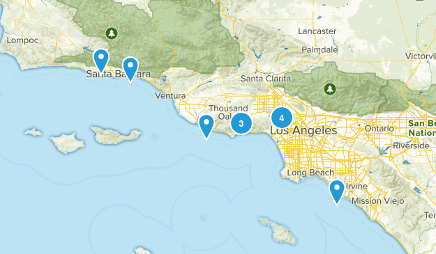 Hikes with Ilana Map