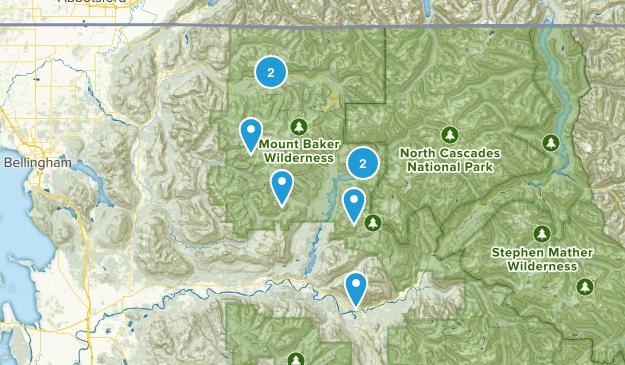 to hike list Map