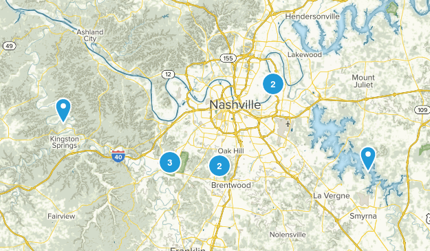 Nashville Map